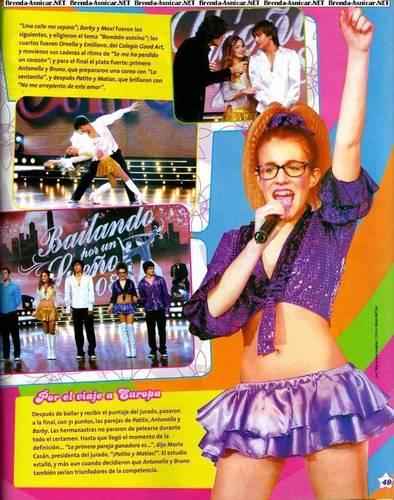 New Patito Feo magazine scans