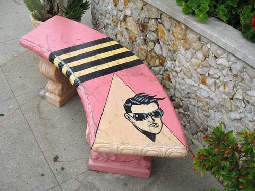Plasticman bench