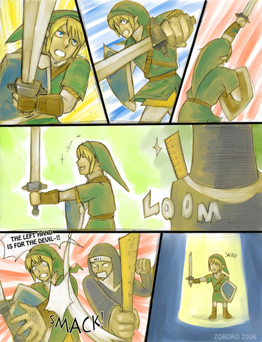 Poor Link - the-legend-of-zelda Fan Art