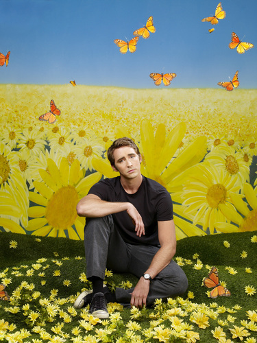 Pushing Daisies wallpaper with a spurge, a flowerbed, and a buttercup called Promotional photos - Ned