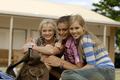 Rikki, Cleo, Emma