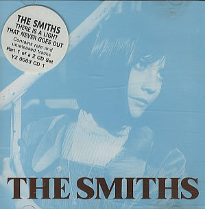 Sandie in The Smiths album cover