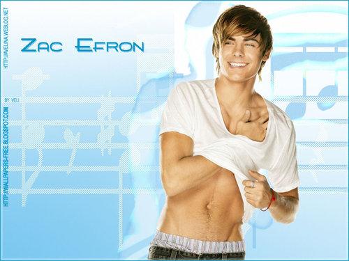 Sexy Zac Efron fond d'écran