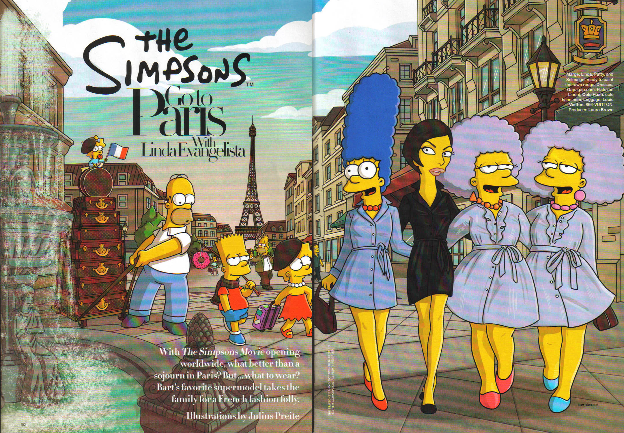 The Simpsons Simpsons Go To Paris