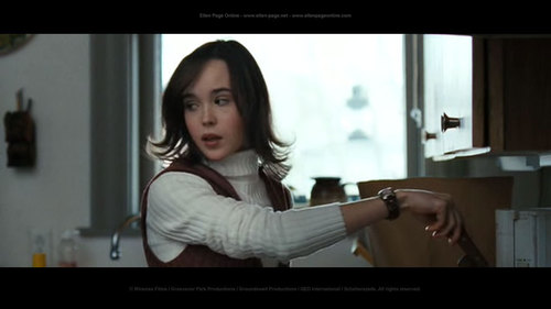 Ellen Page wallpaper probably with a sign and a portrait titled Smart People