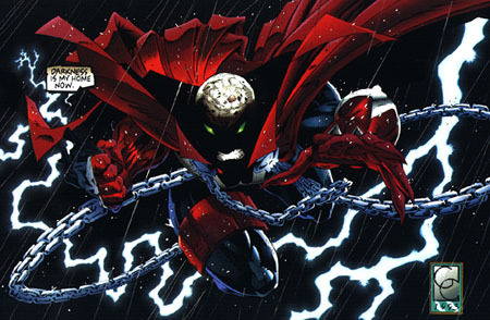 Todd McFarlane's Spawn wallpaper titled Spawn