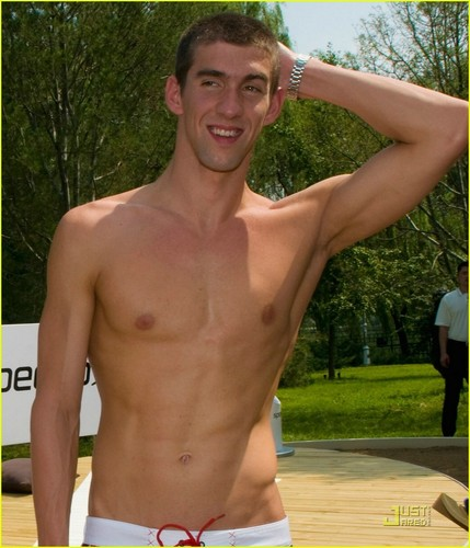 Michael Phelps پیپر وال containing a hunk کے, hunk entitled Speedo Sports Club in Beijing