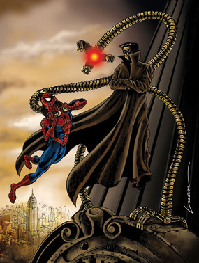 Spidey vs. Doc Ock 3