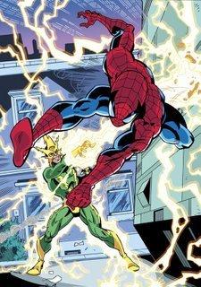 Spidey vs. Electro