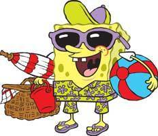 bob esponja calça quadrada wallpaper with animê entitled Spongebob Summer