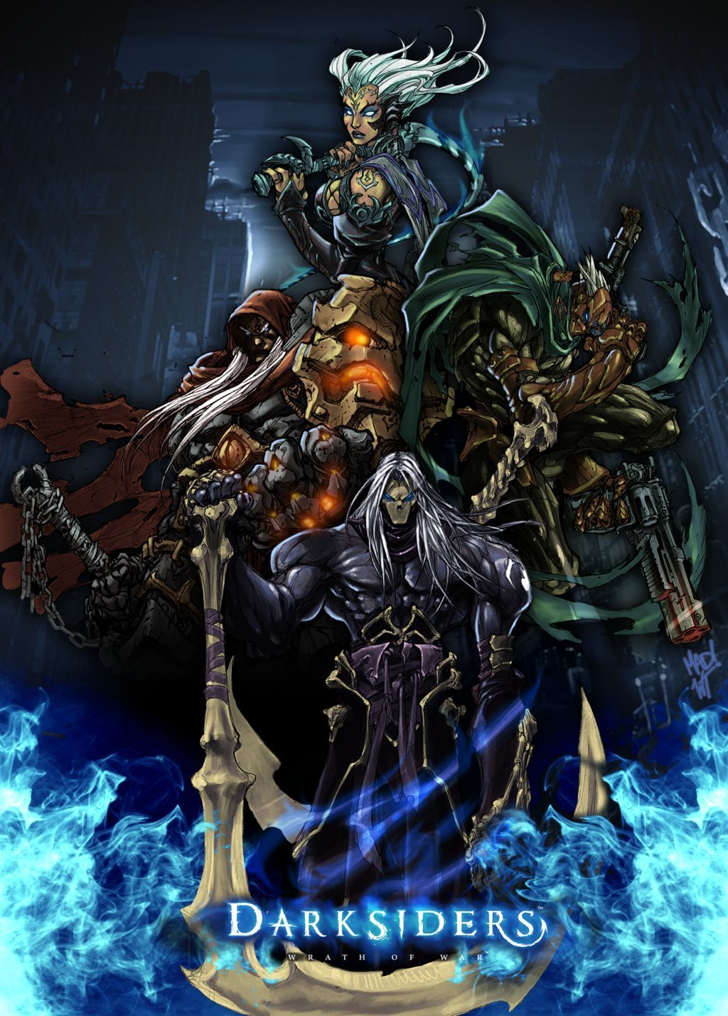 Darksiders famine and pestilence