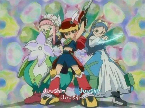 Three musketeers - Juushi !!