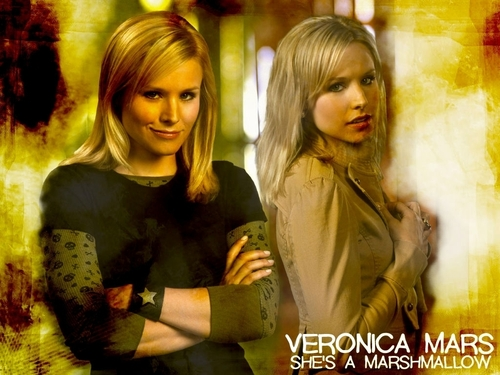 Veronica Mars দেওয়ালপত্র with a portrait called Veronica Mars