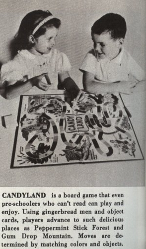 Vintage Candy Land Ad