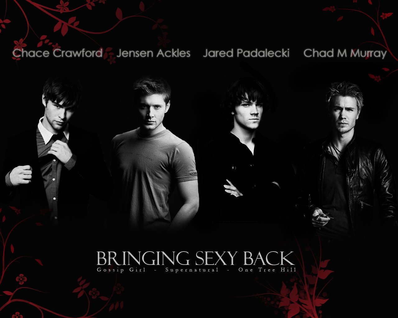 Wallpaper Jensen Ackles, Jared Padalecki, Chace Crawford, Chad Michael