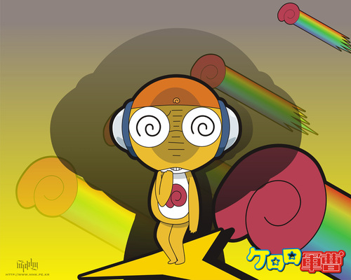 Sgt. Frog (Keroro Gunso) wallpaper containing anime called Wallpaper