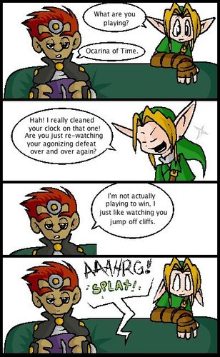 Well Wouldn't you? - the-legend-of-zelda Fan Art