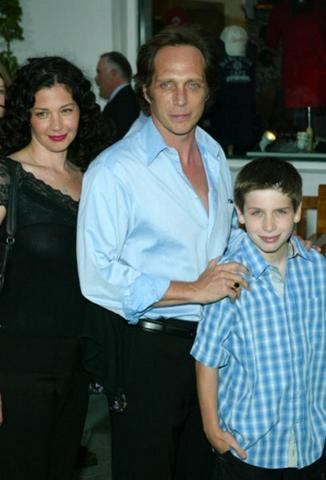 William Fichtner with his wife and son