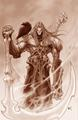 Wrath of War concept art: Death - darksiders photo
