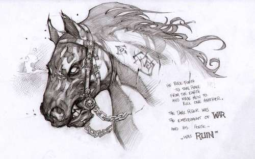 Wrath of War concept art: Ruin - darksiders Photo