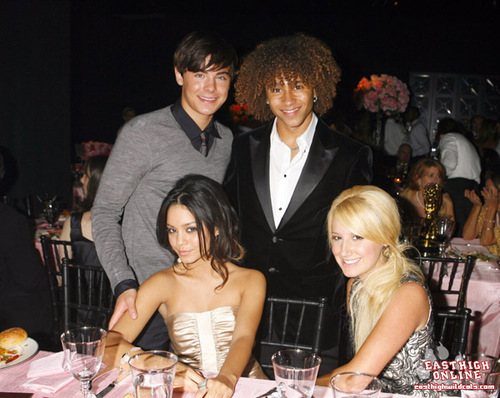 Zac, Corbin, Vanessa & Ashley