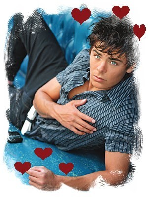 Zac Efron hearts - zac-efron Fan Art