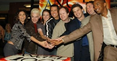 amy at angel 100th episode celebration