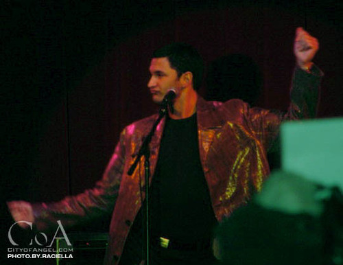 andy at buffy party