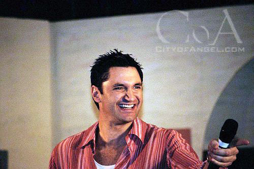 andy hallett at convention