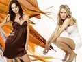 blair and serena - gossip-girl wallpaper