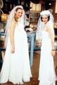 Phoebe and Monica as bride`s - friends photo