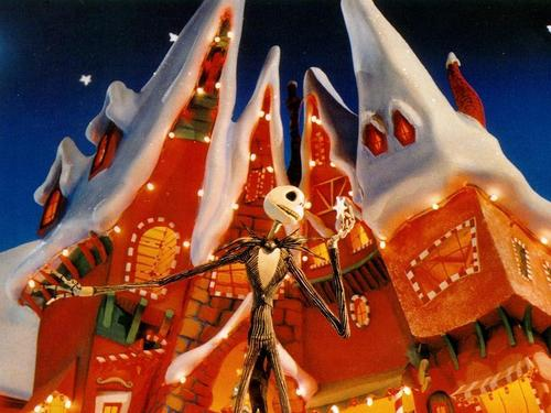 Jack Skellington 壁纸 titled jack skellington