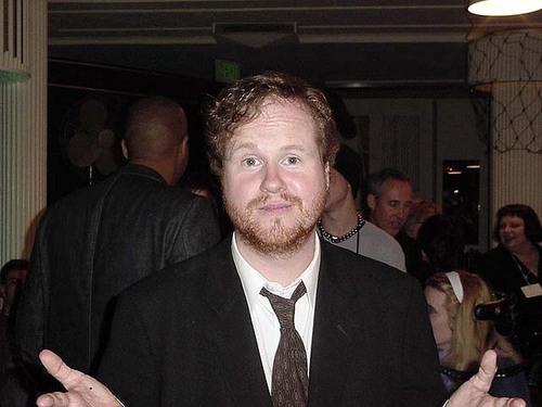 joss at buffy posting board party 2003