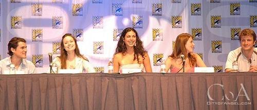 joss & cast at comic con 2004