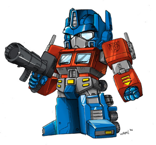 kid optimus