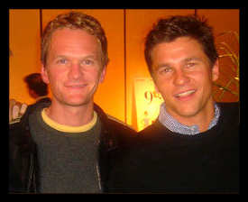 Neil Patrick Harris wallpaper titled neil & david