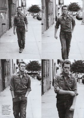 Neil Patrick Harris wallpaper with a street titled out magazine scan
