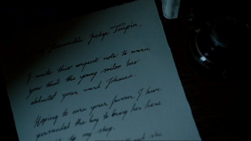 sweeney's letter