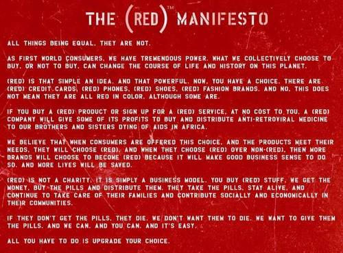 (Product) Red Manifesto