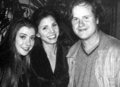 A.Hannigan,C.Carpenter & Joss Whedon - btvs-behind-the-scene photo