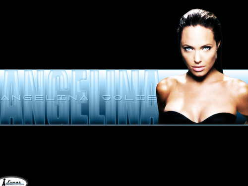 Angelina Jolie wallpaper possibly containing a portrait called AJ