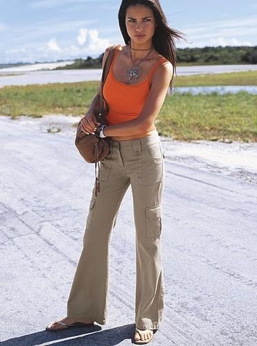 Adriana Lima modeling