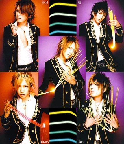 All 5 Alice Nine members