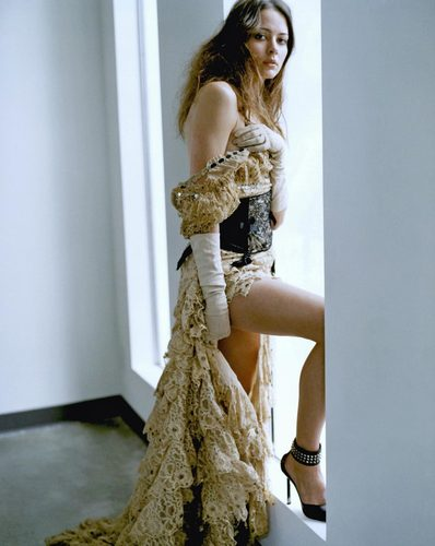 Amy Acker fond d'écran probably with a cocktail dress, a frock, and a dress titled Amy photo Shoot.