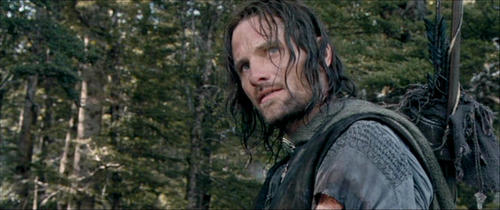 Viggo Mortensen Hintergrund with a douglas fir called Aragorn screencaps