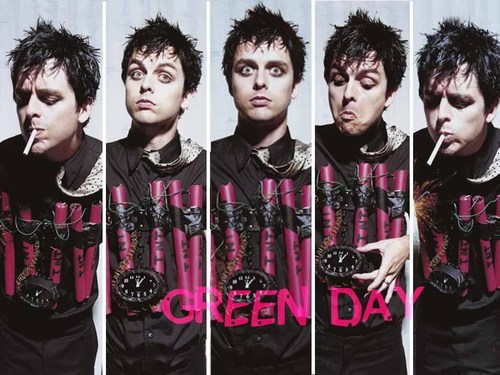 Green Day wallpaper entitled Billie Joe Armstrong