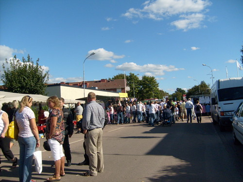 Sweden wallpaper with a carriageway, a street, and a business district entitled Bjuv Festivalen 2008