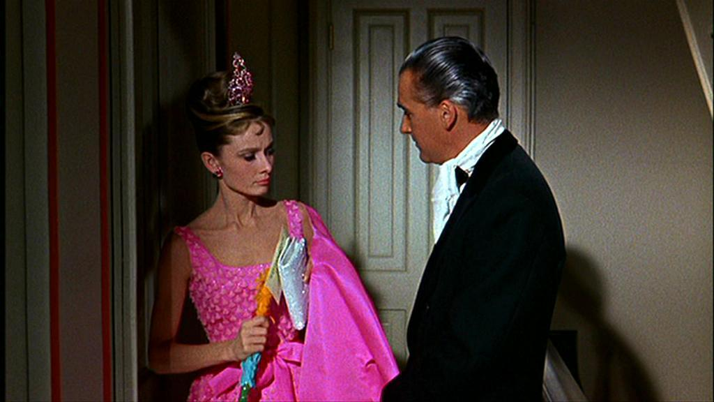 Image result for breakfast at tiffany's pink dress