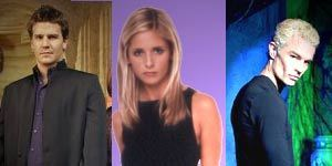 Buffy,Angel & Spike