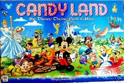 Candy Land Disney Theme Park Edition